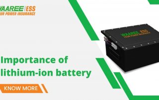 Advantages and disadvantages of lithium-ion battery