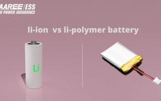 Lithium ion Battery vs Lithium polymer Battery